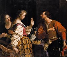 Semiramis Called to Arms by Guercino.
