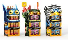 Skylanders Frito Lay display. #GoodFunForAll