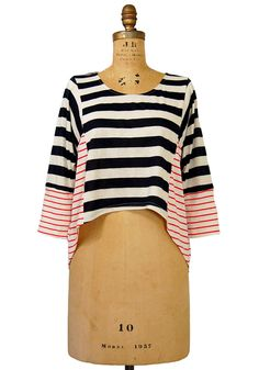Toe the Line Top - $34.99 : Spotted Moth, Chic and sweet clothing and accessories for women