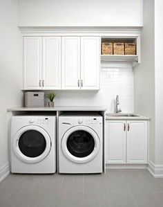 The Marycroft - Model Interior - traditional - Laundry Room - Toronto - Albert David Design Inc.