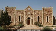 Kloster Mar Elian vor der Zerstörung
