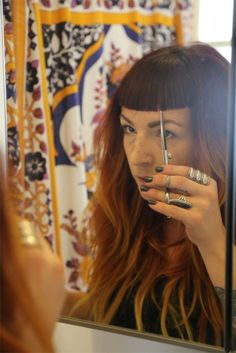 How-To Hair Girl | DIY Bang Trim from the Queen of Bangs.