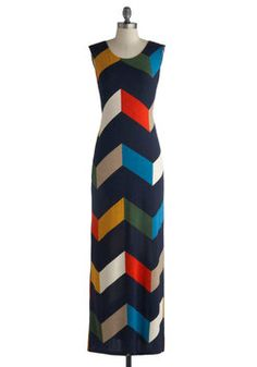Teaching Color Theory Dress, #ModCloth