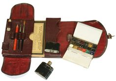 C Roberson & Co Travelling Watercolour Box c1920-1940 - I dreamed about this the other night :)