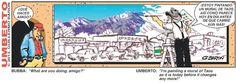 Umberto conserves Taos