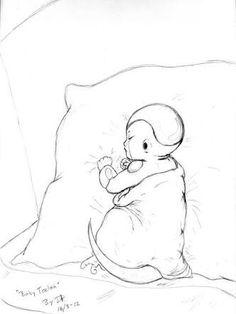 Kuriza baby DBZ 💕💕💕💕 Dbz, Goku, Demons, Dragon Ball Z, Frost, Pikachu, Snoopy, Kitty, Manga
