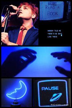 Gerard // Hesitant Alien // blue aesthetic