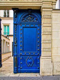Blue Door by J Pruett - Blue Door Photograph - Blue Door Fine Art Prints and Posters for Sale.