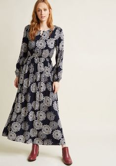 Cute Vintage-Inspired Long Sleeve Dresses | ModCloth