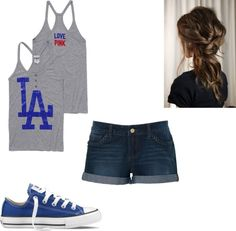 Think Blue! Think Dodgers! I would definitly have to go for the original blue converse or white. Converse Classic, Blue Converse, Cheap Converse, Converse Sneakers, Dodgers Outfit, Dodgers Gear, Dressy Casual Summer, Dodgers Party, Kobe