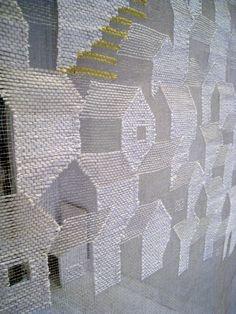 transparent weaving