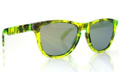 59522047b5 Oakley Frogskins  Acid Tortoise  Neon - mashKULTURE Fashion Tips