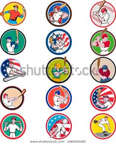 Find Collection Icon Illustration Cartoon Character American stock images in HD and millions of other royalty-free stock photos, illustrations and vectors in the Shutterstock collection. Thousands of new, high-quality pictures added every day. American Stock, Sports Art, Cartoon Characters, Royalty Free Stock Photos, Baseball, Retro, Illustration, Artist, Pictures