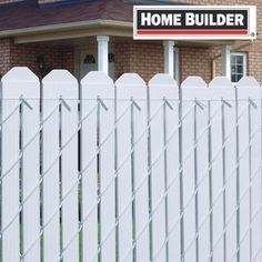 "80 Pack 48""L White Chainlink Fence Slats"