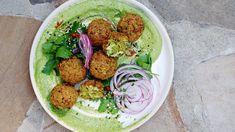 ZUCCHINI FALAFEL — Tara O'Brady One Week Meal Plan, Meals For The Week, Lebanese Garlic Sauce, Roasted Fennel, Baked Corn, Summer Meal Planning, Falafel, Fodmap, Wine Recipes