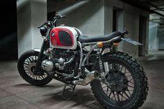 Bmw R80 Boxer Country #scrambler   by Motorecyclos