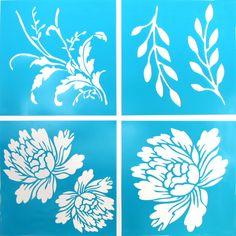 Amazon.com: Martha Stewart Crafts Vintage Decor Stencil, 33558 Blossom