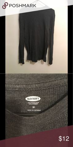 Old Navy Long Sleeve Shirt Dark grey long sleeve shirt. Old Navy Shirts Tees - Long Sleeve
