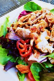 Paleo & Wine: Chicken BLT Salad