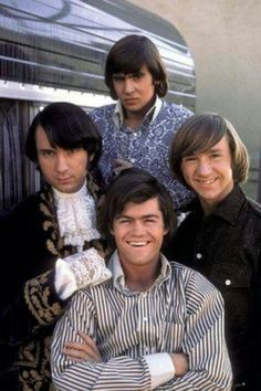 The Monkees, Mike Nesmith, Davy Jones, Micky Dolenz, Peter Tork