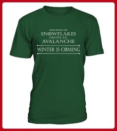 FUNNY SNOWFLAKE SHIRT  Winter Is Coming ANTITRUMP T SHIRT - Winter shirts (*Partner-Link)
