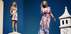 #mini_dress & #maxi_dress Summer 2014, Spring Summer, Floral Dresses, Summer Collection, Summer Dresses, Mini, Fashion, Moda, Summer Sundresses