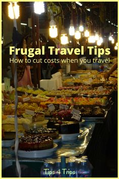 Frugal Travel Tips t