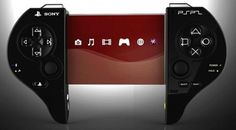 Concept Sony PSP 2 with a transparent OLED-display