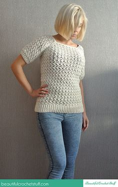 Ravelry: Beautiful Crochet Stuff Sweater - free crochet pattern by Jane (Beautiful Crochet Stuff)
