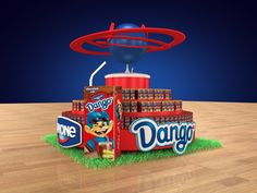 Dango Floor Display on Behance