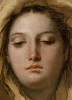 "detail from ""The Immaculate Conception"" by Battista Tiepolo @ Museo del Prado, Madrid"