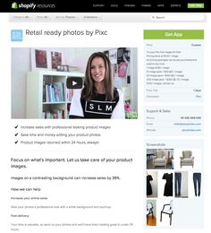 Shopify app - product photography #shopify #ecommerce #sellingonline