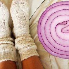 Zodra je dit geheim ontdekt, ga je elke avond naar bed met ui in je sokken