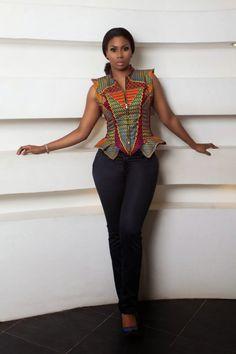 Amazing Look Book By Ghanaian Label Stylista Gh; Entitled Wild | FashionGHANA.com: 100% African Fashion