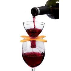 Houdini On-Glass Wine Aerator