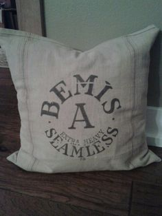 We will have some feed sack pillows at the Bailey Barn Sale!