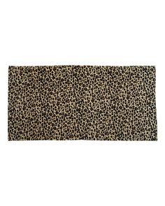Carmel Towel Company - Animal Print Velour Beach Towel - C3060A
