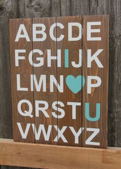 Perfect for the playroom, family room, or even a kids room! Made from cedar fence boards, sourced from a local mill, sanded smooth, and built