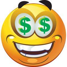 Dollar Eyes smiley - PNG image with transparent background All Emoji, World Emoji, Emoji Love, Cute Emoji, Emoticon Faces, Funny Emoji Faces, Smiley Faces, Images Emoji, Emoji Pictures