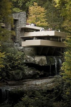 De villa Fallingwater