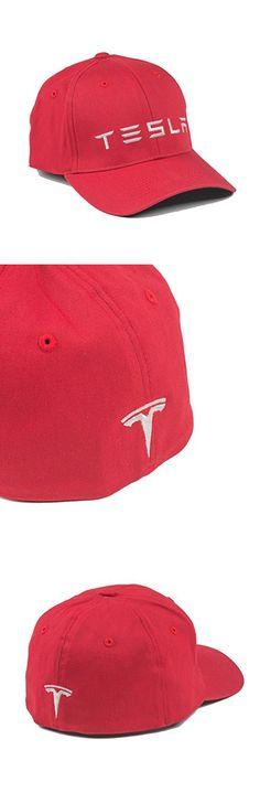 Tesla Motors Wordmark Fitted Hat (L/XL)