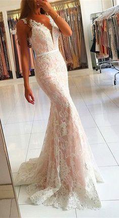 Lace Prom dress,sexy prom dress,Evening Dress,Charming prom dress, long prom dress,prom dresses, elegant prom dress, prom dress
