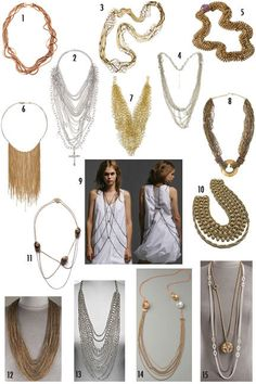 #Chains #Jewellery #Necklace. Lots of thick chains and heavy jewellery.