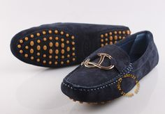 Todd's driving shoes in navy