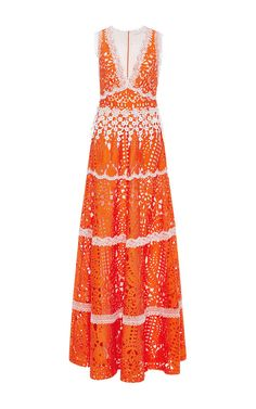 Lizza Floral Gown by ALEXIS Now Available on Moda Operandi