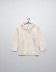 crossover knitted cardigan