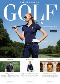 Women's Golf & Tennis Clothing From Ralph Lauren