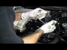 VW Timing Belt Oil Seal DIY Golf Cabrio Jetta (1 of 4) - http://www.thehowto.info/vw-timing-belt-oil-seal-diy-golf-cabrio-jetta-1-of-4/