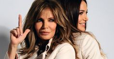 Jaclyn Smith and her daughter, Spencer Margaret Richmond- LOOK AT THAT FACE! THIS IS WHAT 69 CAN LOOK LIKE!!!!