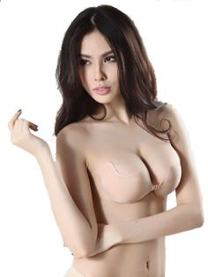 5f97484a2fbcc WANAYOU Women Sexy Push Up Silicone Seamless Strapless Invisible Bra  Adhesive Bras Intimates Accessories For Wedding Party